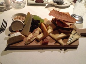 selection of cheese from I.J Mellis