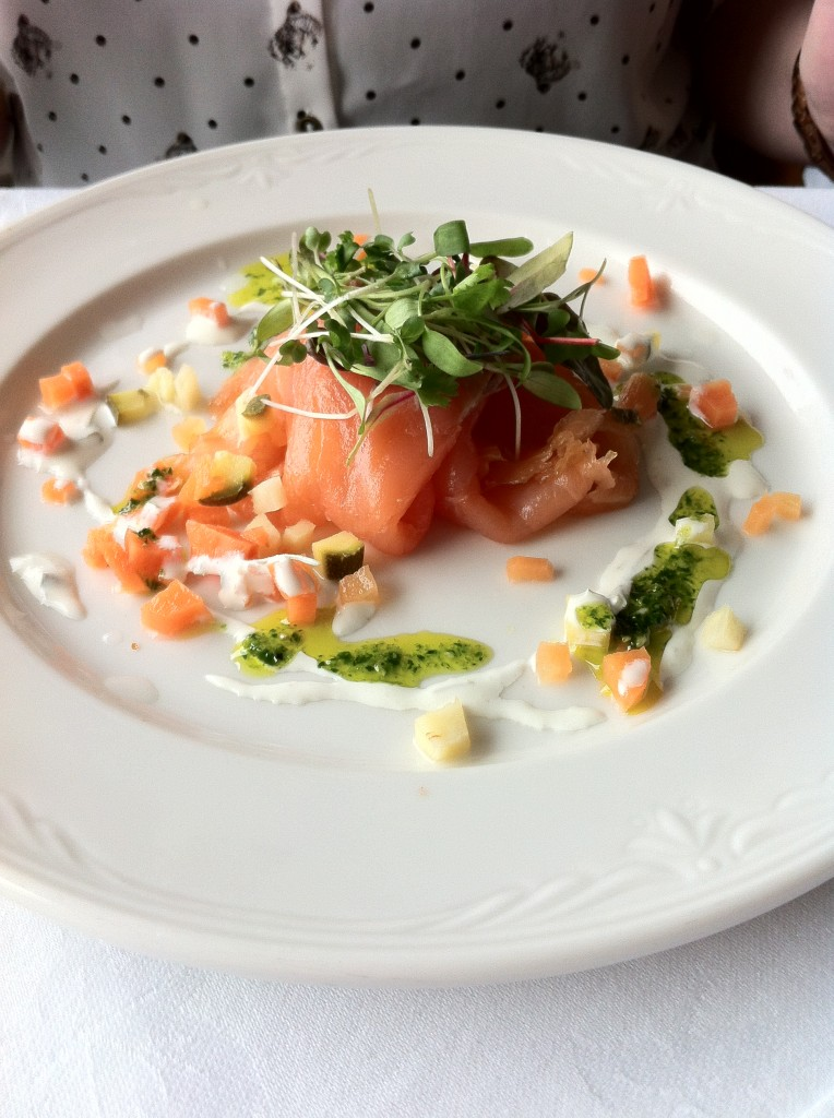Shetland smoked salmon