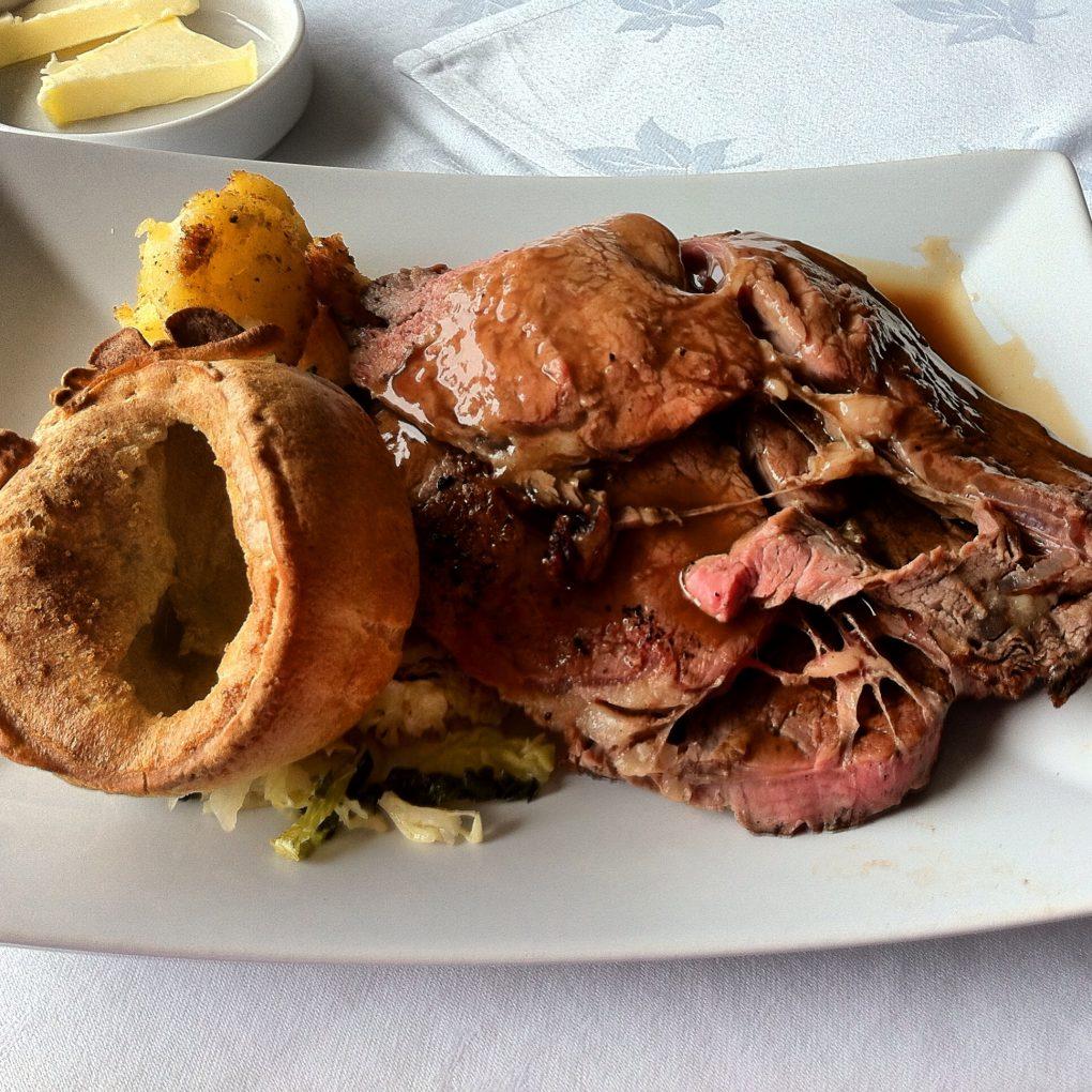 roast rib of scotch beef