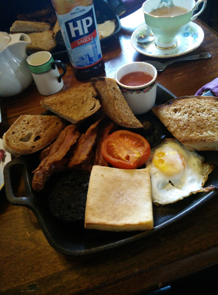 Full Scottish Breakfast at Roseleaf