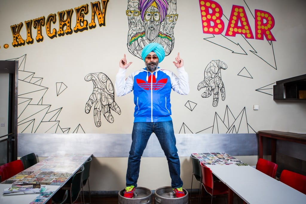 WEB SIZE - Hardeep Singh Kohli & VDeep Interior - Credit Paul Johnston at Copper Mango