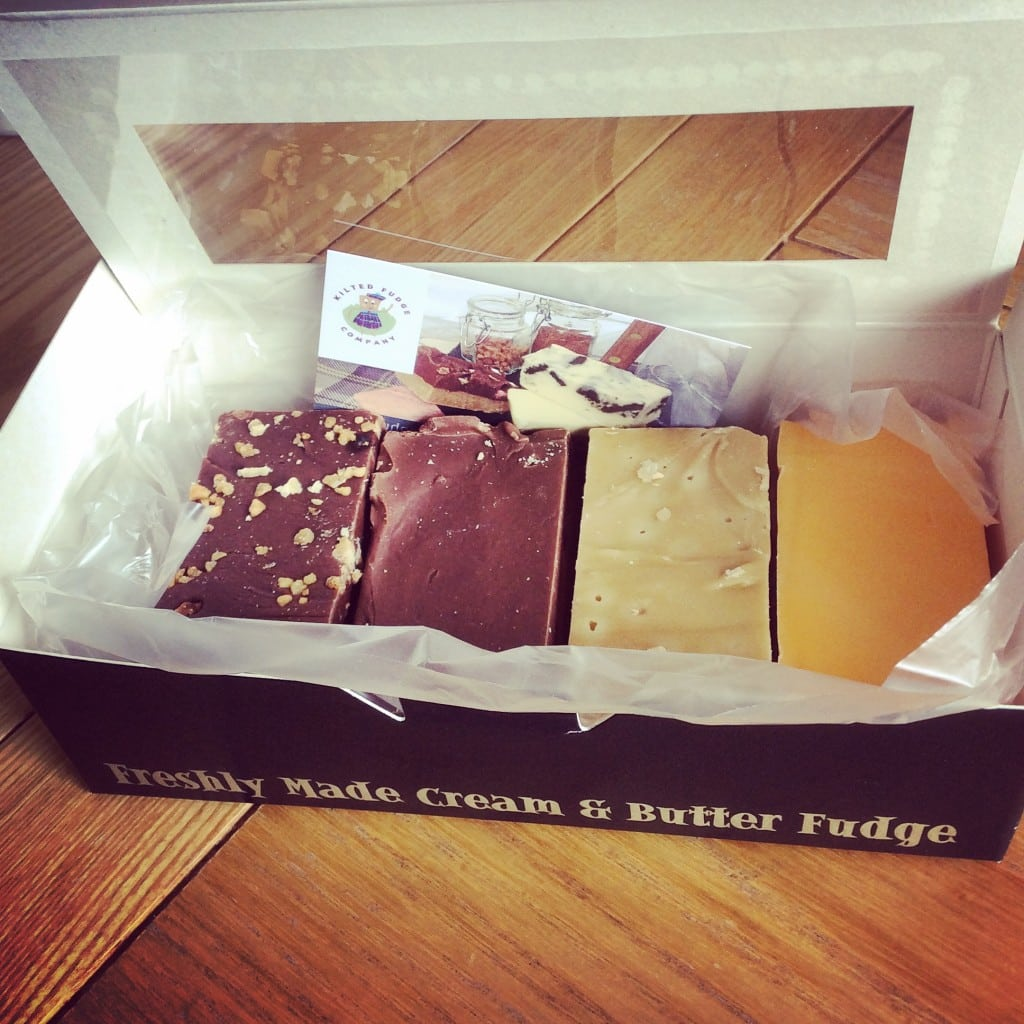 Fudge from the kilted fudge company