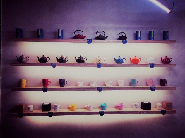 Rose Leaf Tea Room Edinburgh